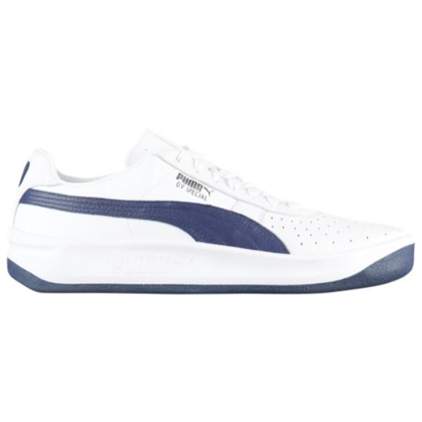 プーマ メンズ テニス シューズ・靴【GV Special +】White/Peacoat
