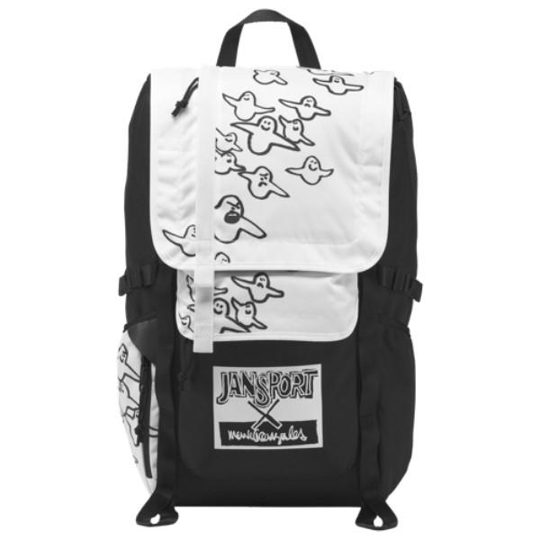 ジャンスポーツ ユニセックス Bird バッグ Gonz バックパック・リュック【The Gonz Bird Backpack】Black/White, Darts shop TiTO (ダーツティト):50bbb809 --- artmozg.com