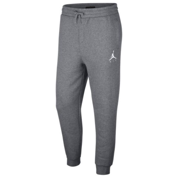 ナイキ ジョーダン メンズ ボトムス・パンツ【Jumpman Air Fleece Pants】Carbon Heather/White