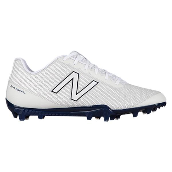 新しい ニューバランス ニューバランス メンズ X ラクロス シューズ・靴【Burn X Low】White Low】White/Blue/Blue, モコペット:75758f2e --- clftranspo.dominiotemporario.com