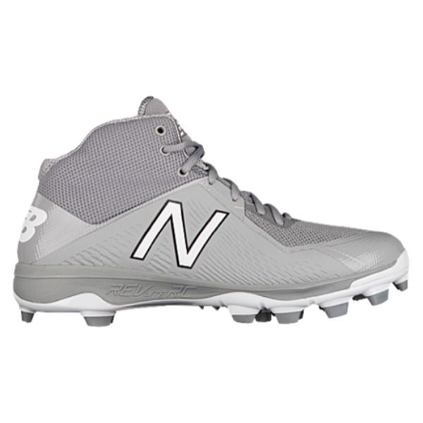 ニューバランス メンズ 野球 シューズ・靴【4040v4 TPU Mid】Grey/Grey