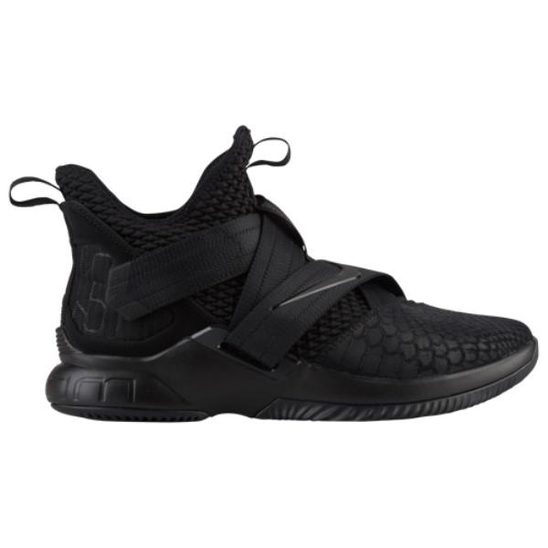 ナイキ メンズ バスケットボール シューズ・靴【Soldier XII SFG】Black/Black
