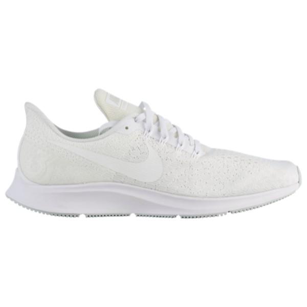 ナイキ メンズ ランニング・ウォーキング シューズ・靴【Air Zoom Pegasus 35】White/Summit White/Pure Platinum