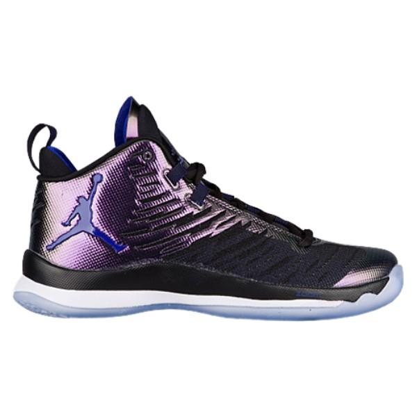 ナイキ ジョーダン メンズ バスケットボール シューズ・靴【Super.Fly 5】Black/Concord/White