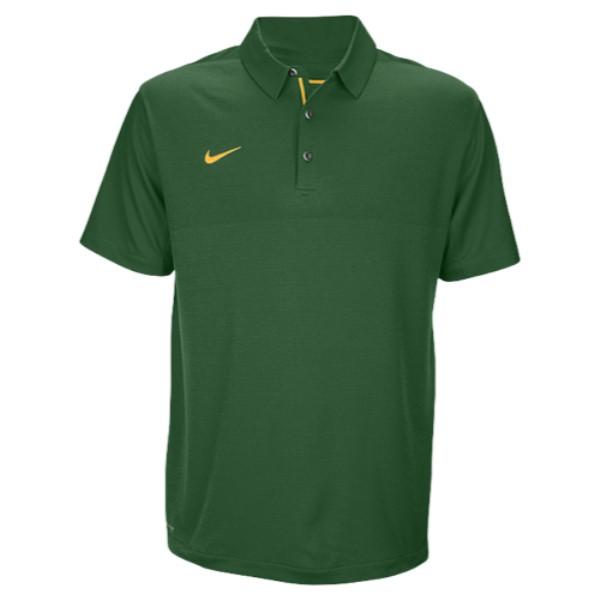 ナイキ メンズ トップス ポロシャツ【Team Sideline Dry Elite Polo】Gorge Green/Sundown