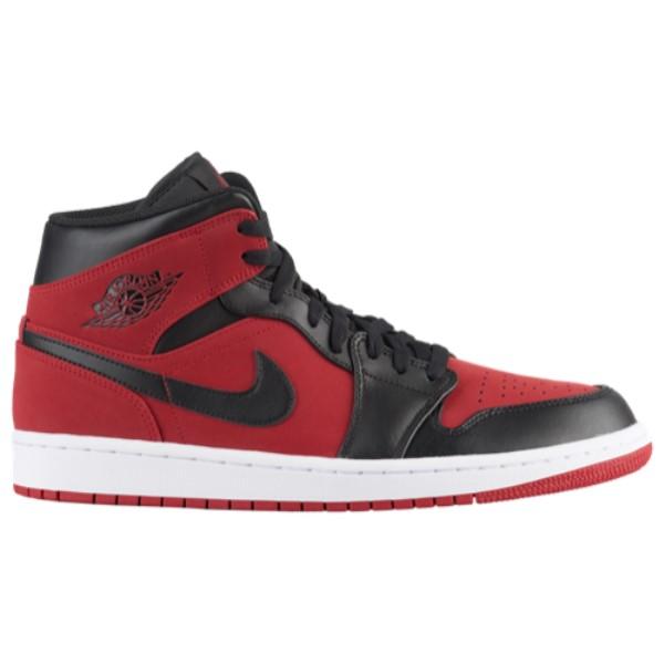ナイキ ジョーダン メンズ バスケットボール シューズ・靴【AJ 1 Mid】Gym Red/Black/White
