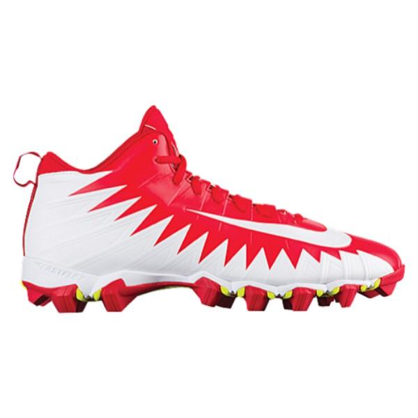 ナイキ メンズ アメリカンフットボール シューズ・靴【Alpha Menace Shark】University Red/White/White