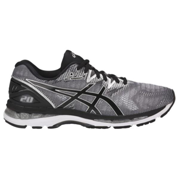 アシックス メンズ ランニング・ウォーキング シューズ・靴【GEL-Nimbus 20】Carbon/Black/Silver