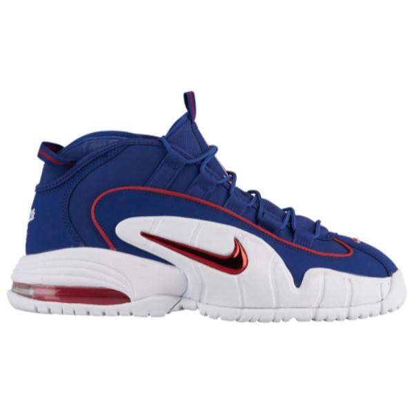 ナイキ メンズ バスケットボール シューズ・靴【Air Max Penny】Deep Royal Blue/Gym Red/White