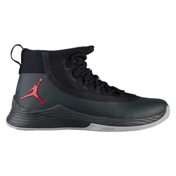 ナイキ ジョーダン メンズ バスケットボール シューズ・靴【Ultra.Fly 2】Black/University Red/Anthracite