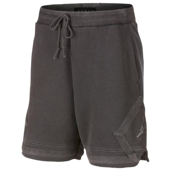 ナイキ ジョーダン メンズ バスケットボール ボトムス・パンツ【Washed Wings Diamond Fleece Shorts】Black