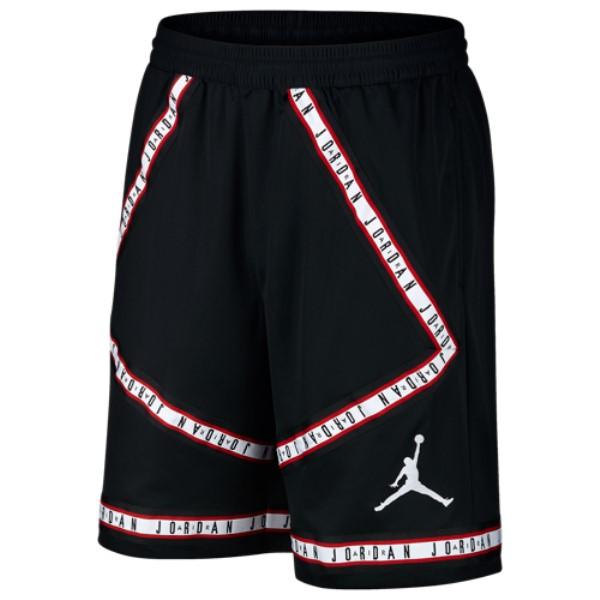 ナイキ ジョーダン メンズ バスケットボール ボトムス・パンツ【Air Joran Taping Shorts】Black/White