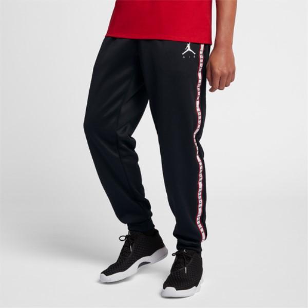 ナイキ ジョーダン メンズ ボトムス・パンツ スウェット・ジャージ【JSW Jumpman Tricot Pants】Black/Dark Smoke Grey