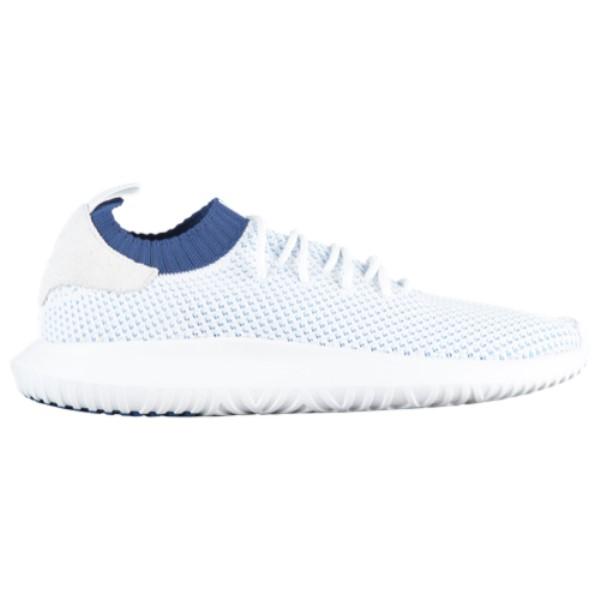 アディダス メンズ ランニング・ウォーキング シューズ・靴【Tubular Shadow Primeknit】White/White/Noble Indigo