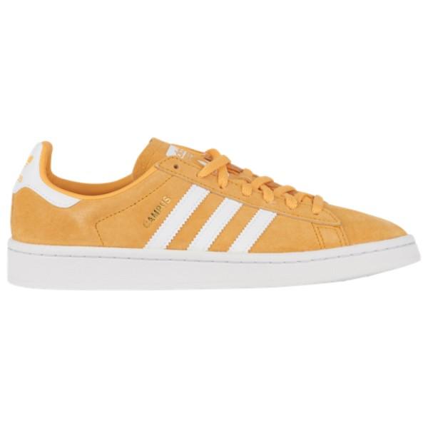 アディダス レディース バスケットボール シューズ・靴【Campus】Chalk Orange/White/Crystal White