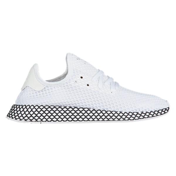 アディダス メンズ ランニング・ウォーキング シューズ・靴【Deerupt Runner】White/White/Black