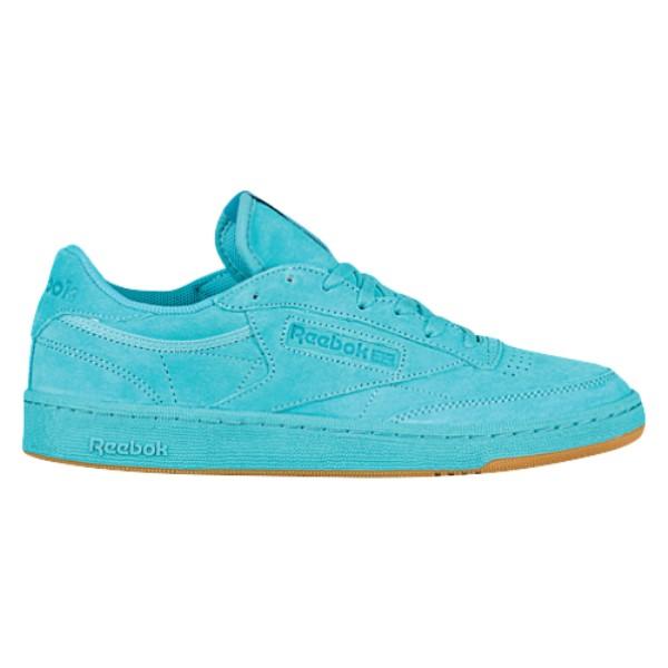 リーボック メンズ テニス シューズ・靴【Club C 85】Glacier Blue/Black/White