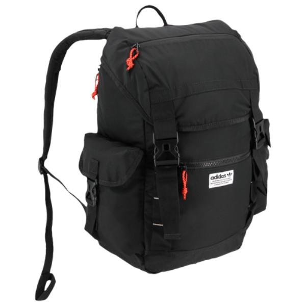 アディダス ユニセックス バッグ バックパック・リュック【Urban Utility Backpack】Black/Solar Gold/Solar Red