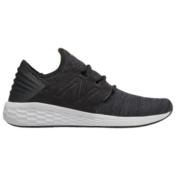 ニューバランス メンズ ランニング・ウォーキング シューズ・靴【Fresh Foam Cruz V2】Black/Magnet/White