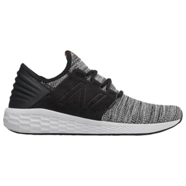 ニューバランス メンズ ランニング・ウォーキング シューズ・靴【Fresh Foam Cruz V2】White/Black