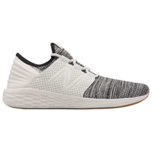 ニューバランス メンズ ランニング・ウォーキング シューズ・靴【Fresh Foam Cruz V2】Black/Moonbeam