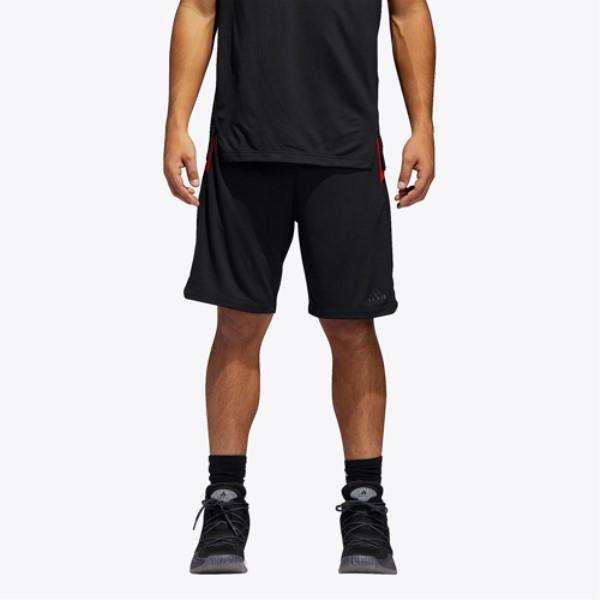 アディダス メンズ バスケットボール ボトムス・パンツ【Accelerate Shorts】Black/Red