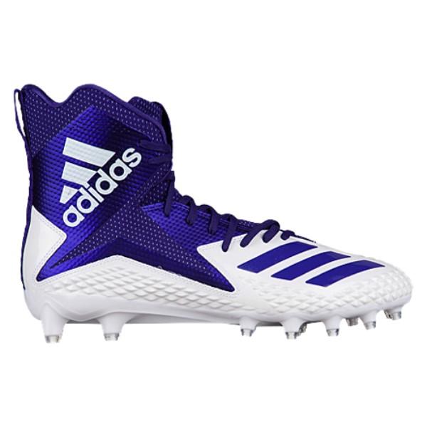 アディダス メンズ アメリカンフットボール シューズ・靴【Freak X Carbon High】White/Purple