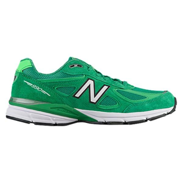 ニューバランス メンズ ランニング・ウォーキング シューズ・靴【990】New Green/Vivid Cactus