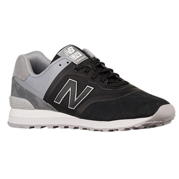ニューバランス メンズ ランニング・ウォーキング シューズ・靴【574】Black/Grey