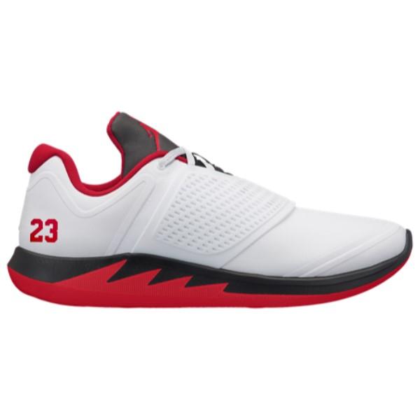 ナイキ ジョーダン メンズ フィットネス・トレーニング シューズ・靴【Grind 2】White/Fire Red/Black