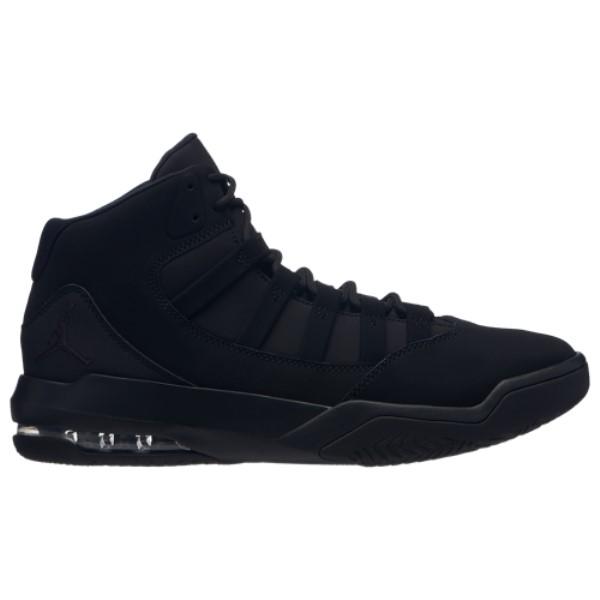 ナイキ ジョーダン メンズ バスケットボール シューズ・靴【Max Aura】Black/Black/Gym Red