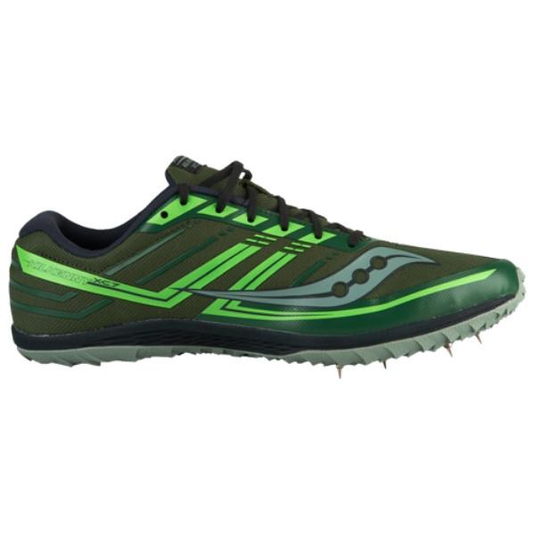 サッカニー メンズ 陸上 シューズ・靴【Kilkenny XC7 Spike】Green/Slime