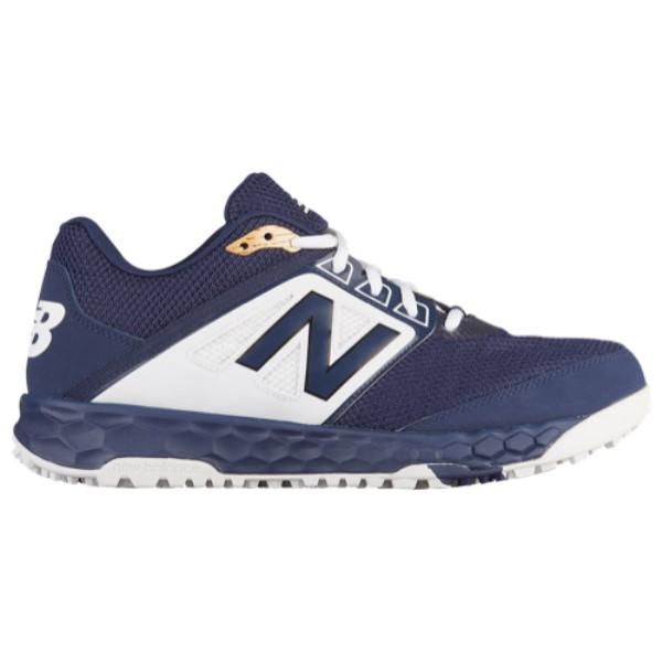 ニューバランス メンズ 野球 シューズ・靴【3000v4 Turf】Navy/White