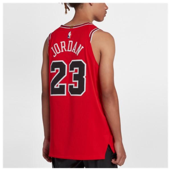 ナイキ メンズ トップス【NBA Authentic Jersey】Red