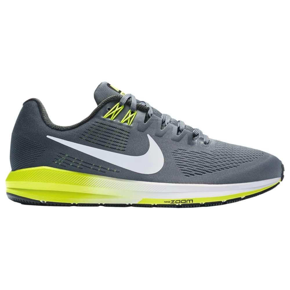ナイキ Nike メンズ ランニング・ウォーキング シューズ・靴【Air Zoom Structure 21】Cool Grey/White/Anthracite/Volt
