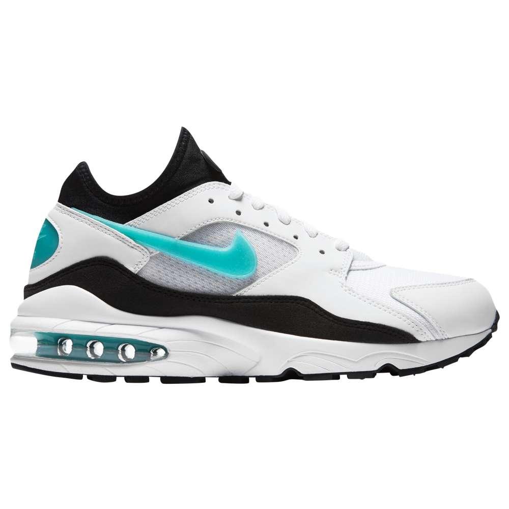 ナイキ Nike メンズ ランニング・ウォーキング シューズ・靴【Air Max 93】White/Sport Turquoise/Black