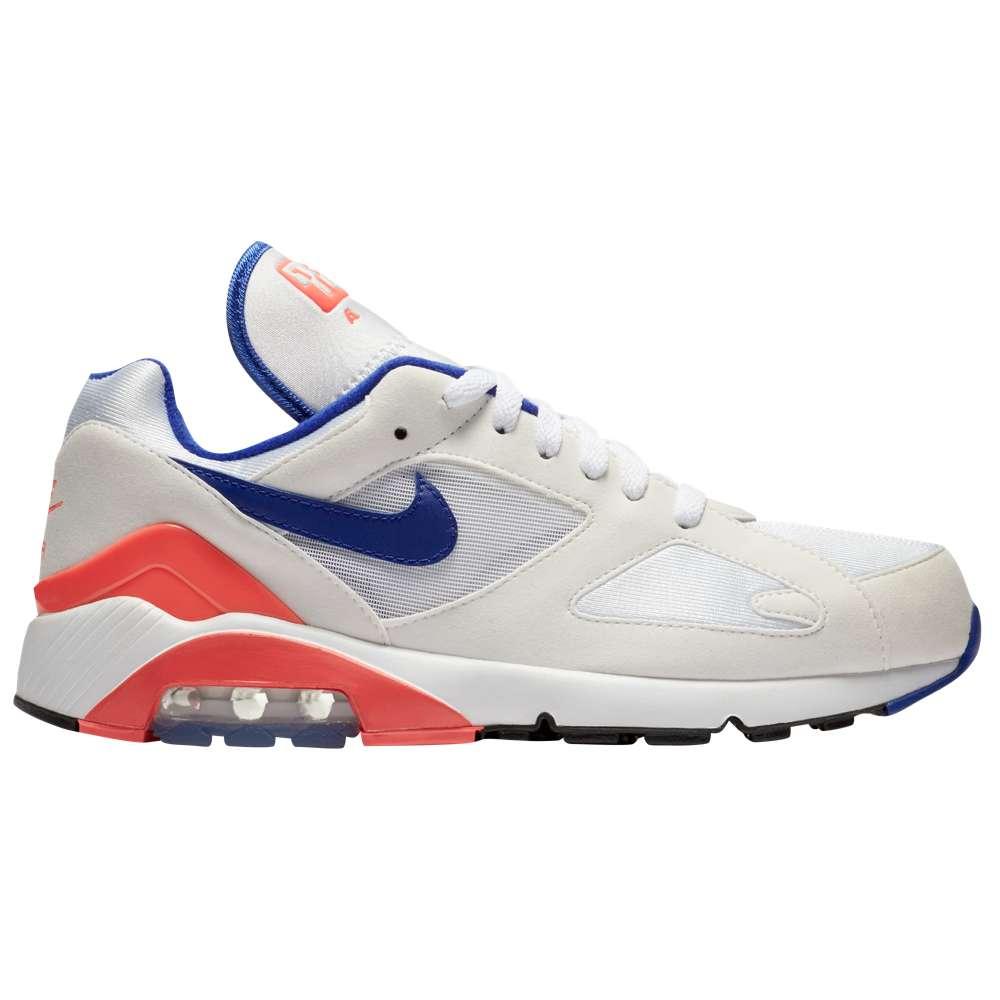 ナイキ Nike メンズ ランニング・ウォーキング シューズ・靴【Air Max 180】White/Ultramarine/Solar Red