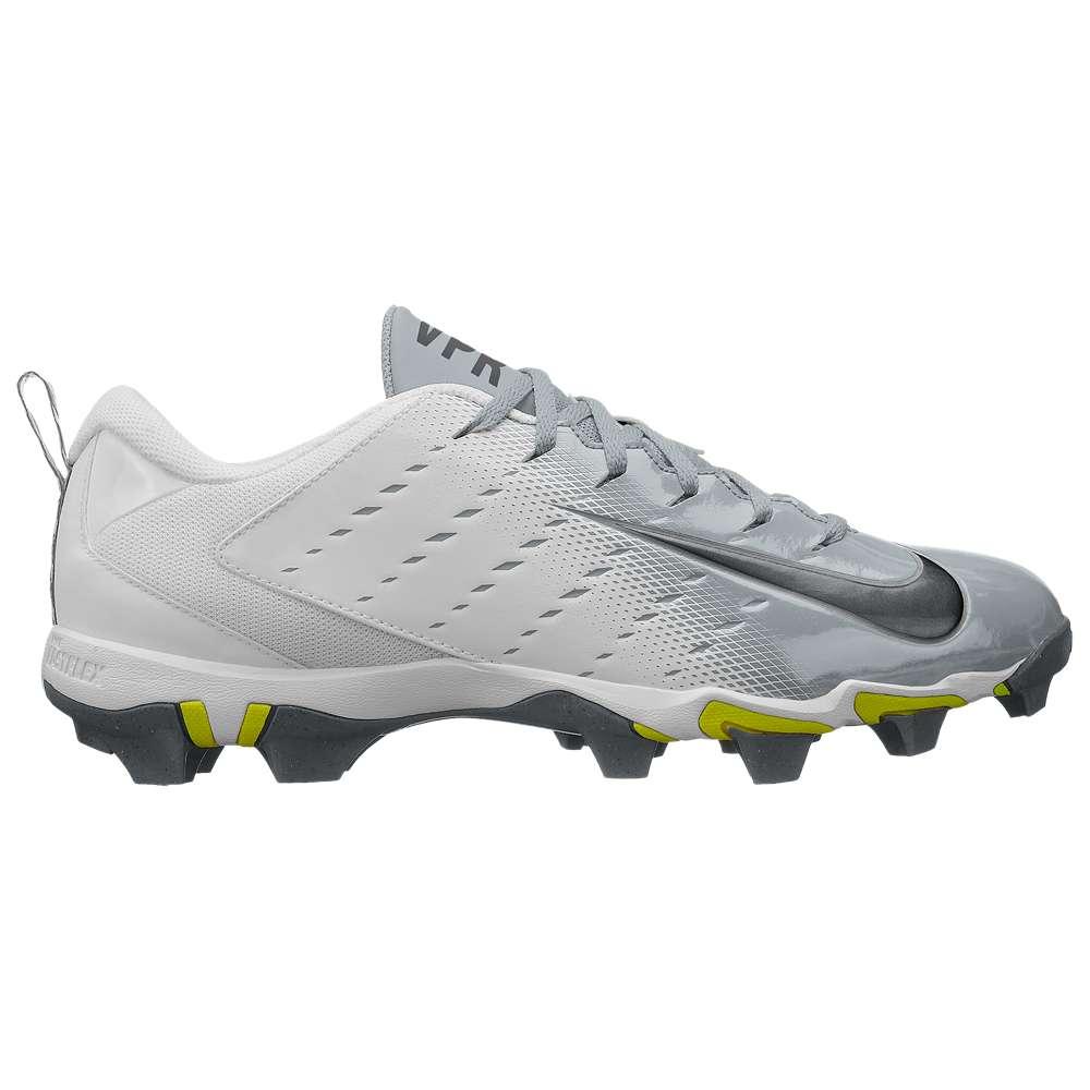 ナイキ Nike メンズ アメリカンフットボール シューズ・靴【Vapor Shark 3】White/Metallic Dark Grey/Metallic Silver