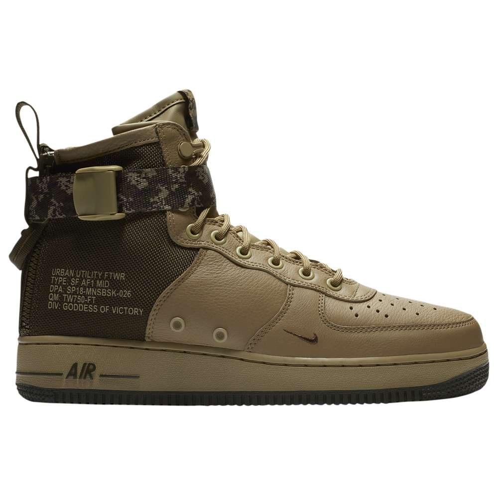 ナイキ Nike メンズ バスケットボール シューズ・靴【SF Air Force 1 Mid '17】Neutral Olive/Cargo Khaki/Neutral Olive