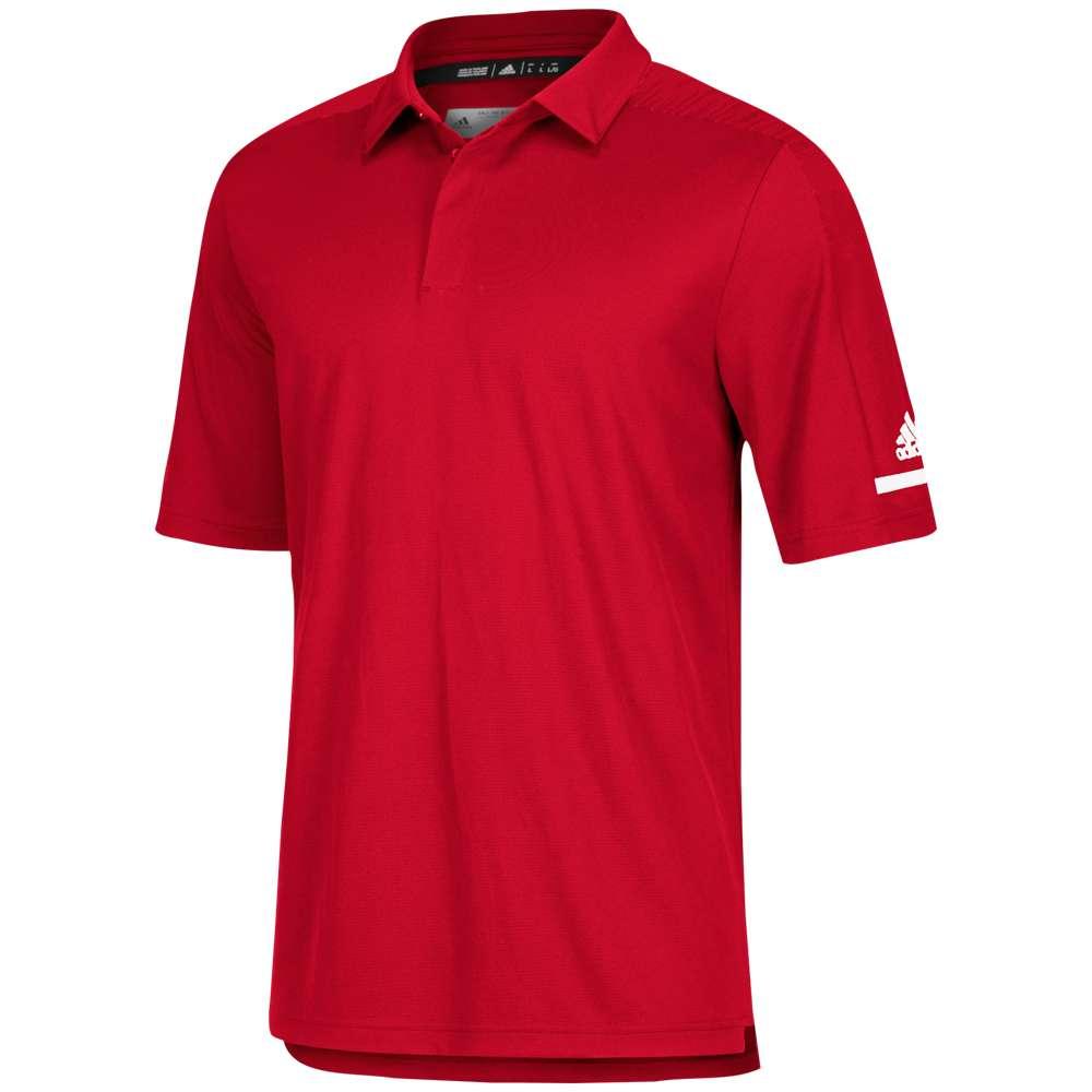 アディダス adidas メンズ トップス ポロシャツ【Team Iconic Coaches Polo】Power Red/White
