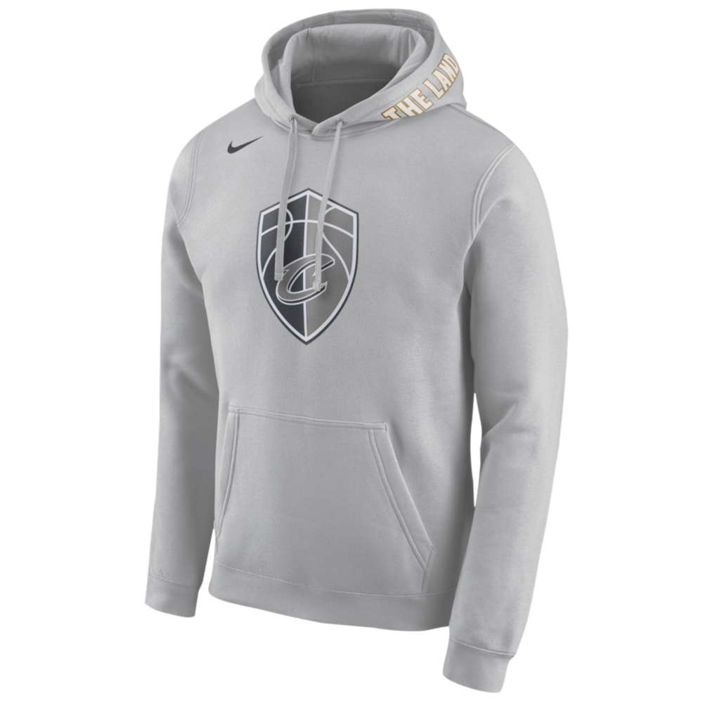 ナイキ Nike メンズ トップス パーカー【NBA City Edition Club Logo Hoodie】Silver
