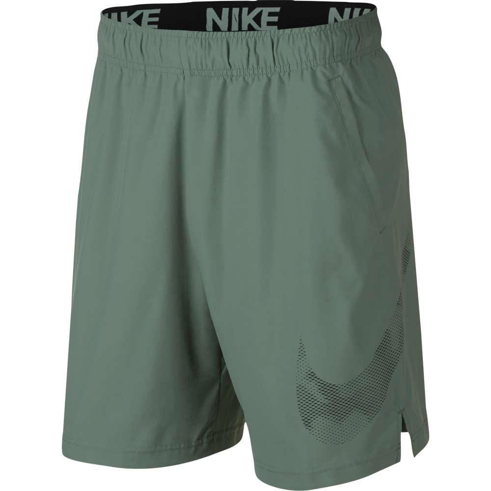 ナイキ Nike メンズ フィットネス・トレーニング ボトムス・パンツ【Flex Woven Graphic Shorts】Clay Green/Black