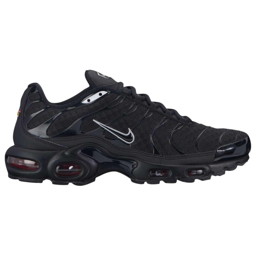 ナイキ Nike メンズ ランニング・ウォーキング シューズ・靴【Air Max Plus】Black/Black/Metallic Silver