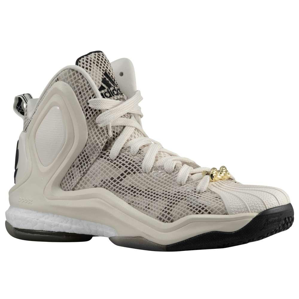 アディダス adidas メンズ バスケットボール シューズ・靴【D Rose 5 Boost】Chalk White/Black/Clear Brown