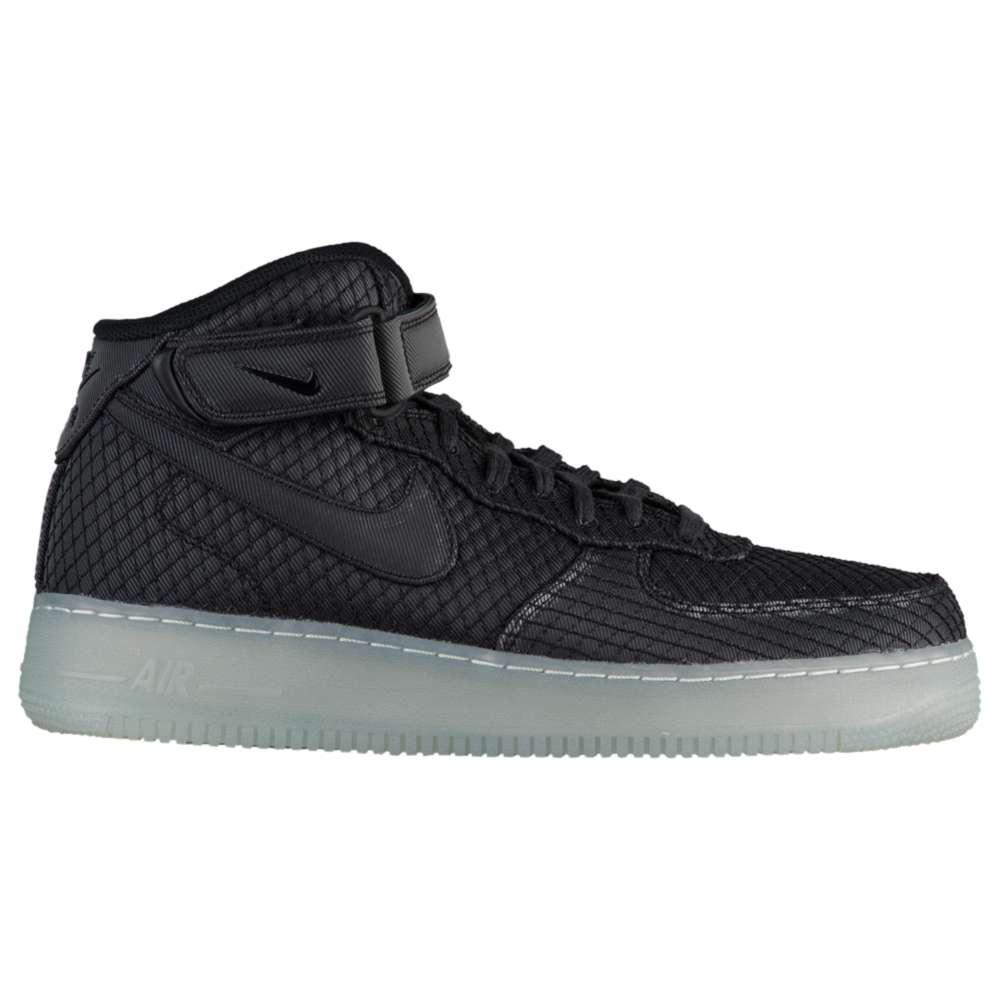 ナイキ Nike メンズ バスケットボール シューズ・靴【Air Force 1 Mid '07 LV8】Black/Black/White/Metallic Silver