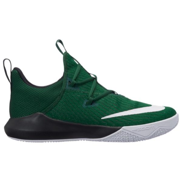ナイキ Nike メンズ バスケットボール シューズ・靴【Zoom Shift 2】Gorge Green/White/Black