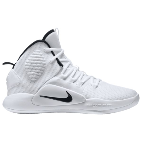 ナイキ Nike メンズ バスケットボール シューズ・靴【Hyperdunk X Mid】White/Black