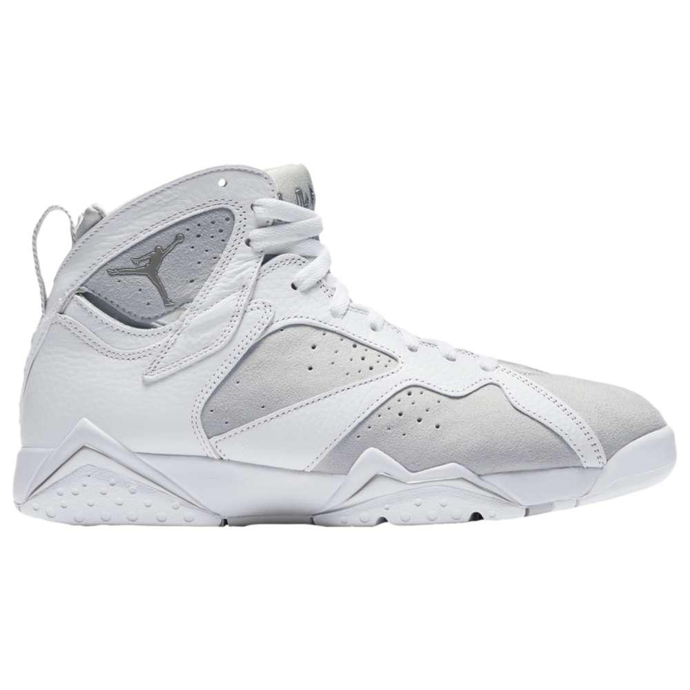 ナイキ ジョーダン Jordan メンズ バスケットボール シューズ・靴【Retro 7】White/Metallic Silver/Pure Platinum