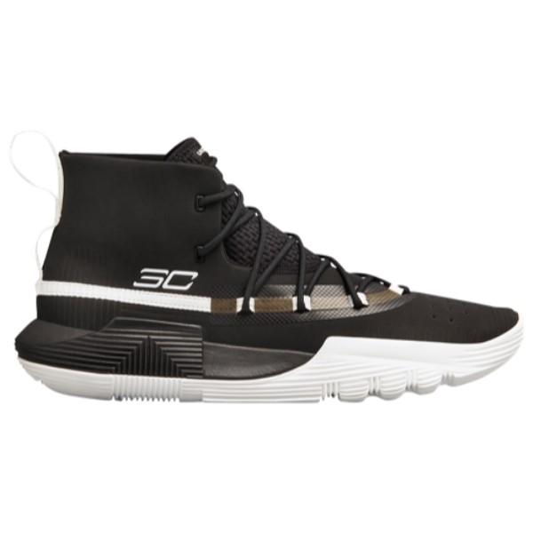 アンダーアーマー Under Armour メンズ バスケットボール シューズ・靴【SC 3Zero II】Black/White