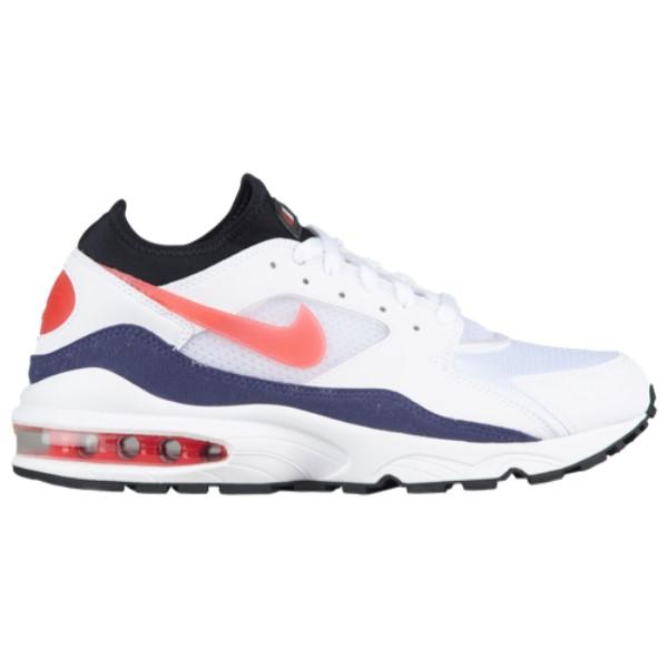 ナイキ Nike メンズ ランニング・ウォーキング シューズ・靴【Air Max 93】White/Habanero Red/Neutral Indigo/Black